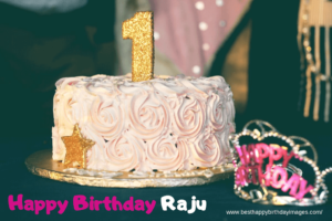 Raju Name Birthday Picture, Best Happy Birthday of Raju Bhai