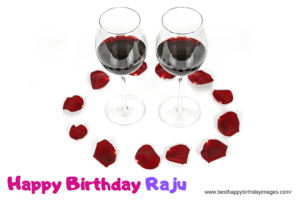 Drink Bottle Birthday Celebration for Raju Birthday