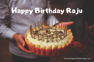 Raju Birthday Cream Cake, Cakes for Raju, Raju's Birthday Celebration