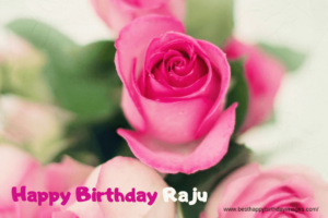 happy birthday with raju name images and photos, birthday cake with raju name and song