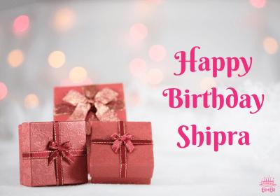 Happy Birthday Shipra Image