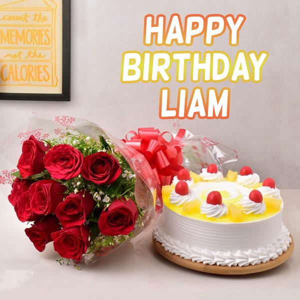 Happy Birthday Liam Images