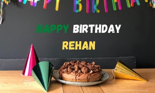 Birthday Cake Image For Rehan Birthday